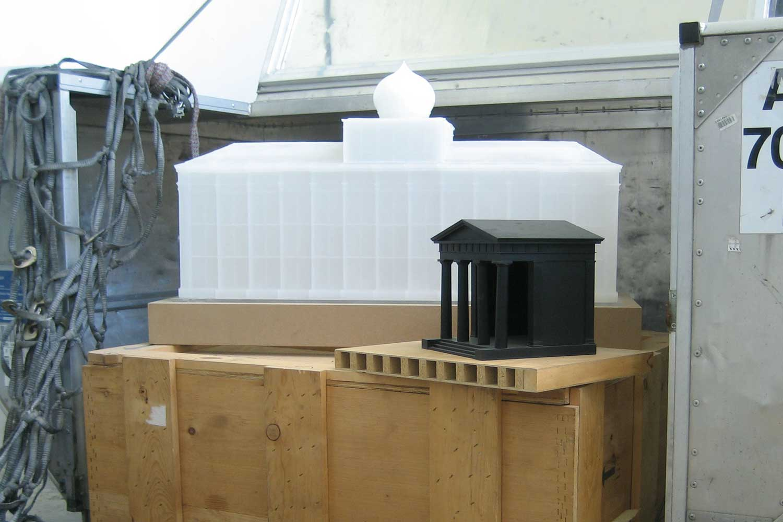 Modellbau Architektur Architekturmodell für Kunst