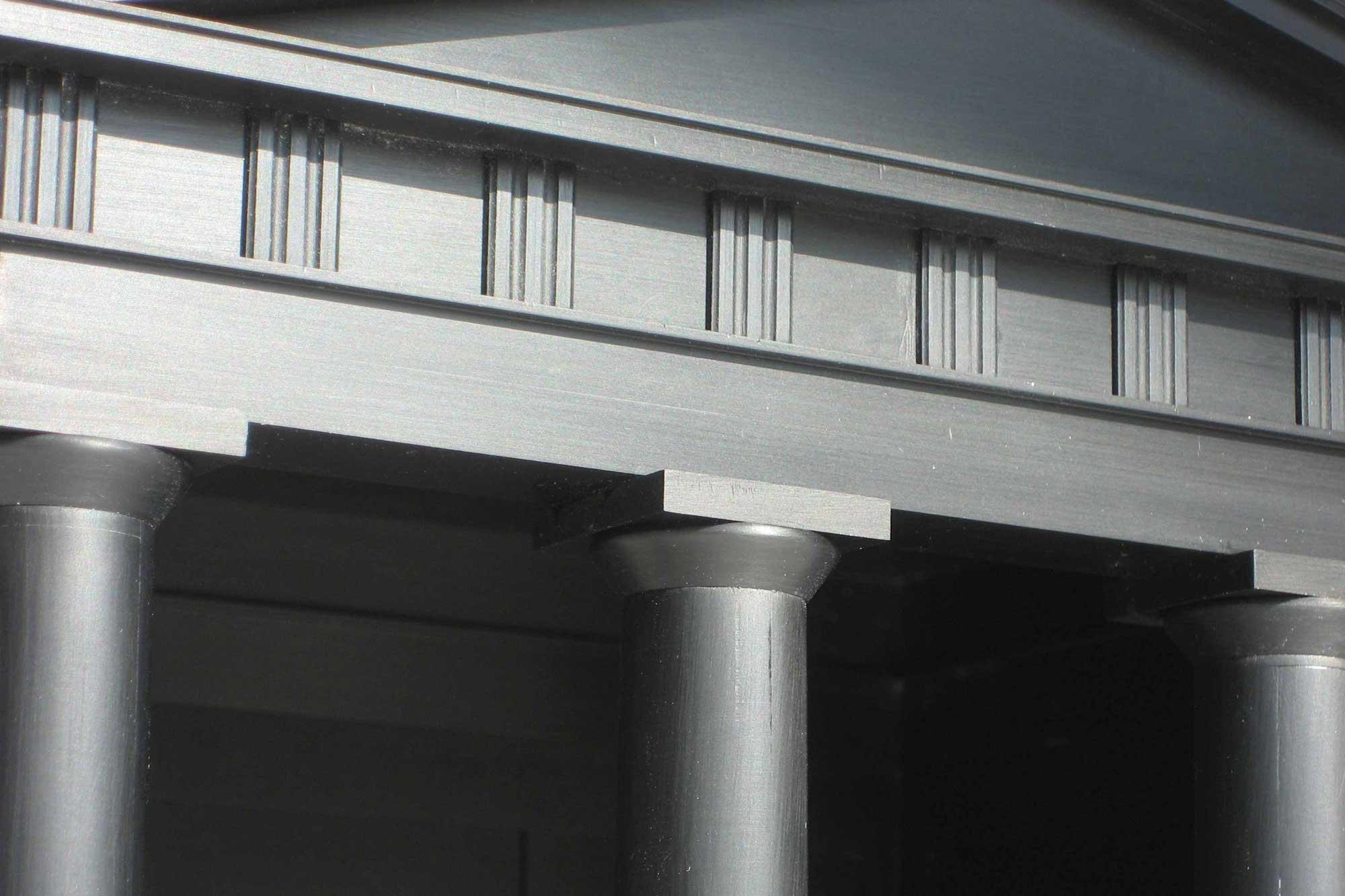 Architekturmodell für Kunst Projekt Luise Anmutung im Detail