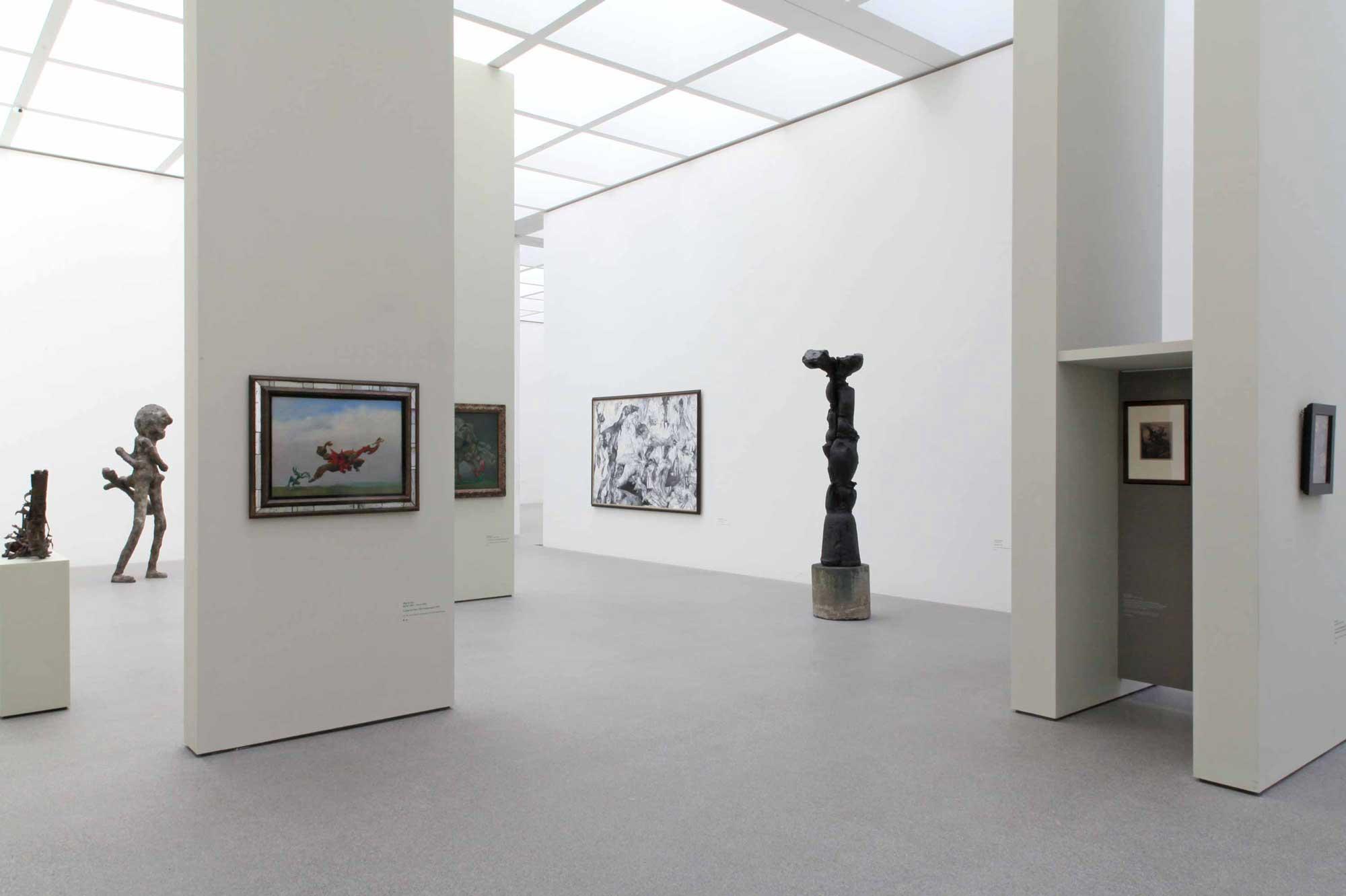 Ausstellungsgestaltung Traum-Bilder Raum 9