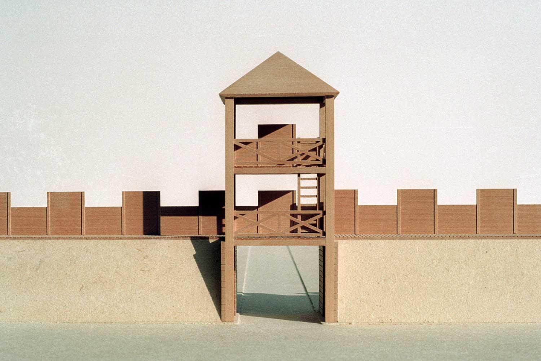 Rekonstruktionsmodelle Römertore in frührömischer Zeit