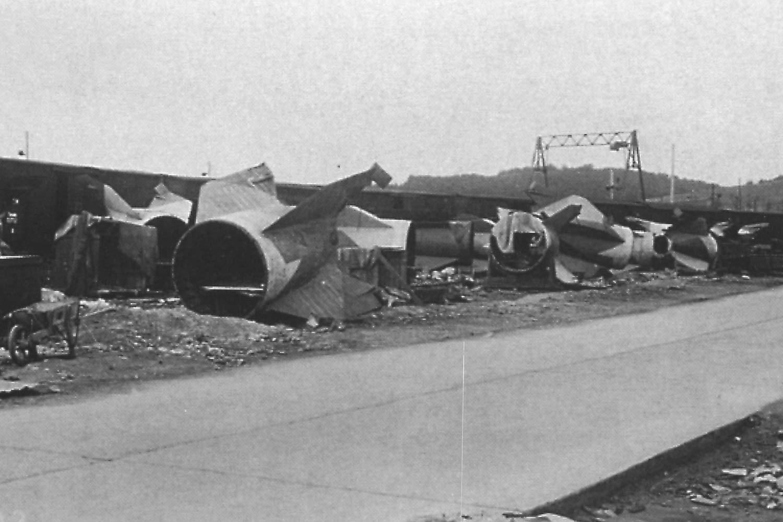 Historische Bilder Mittelbau Dora