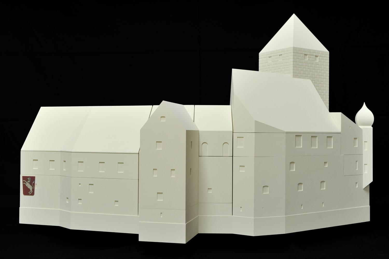 Zustand der Burg Prunn im Barock