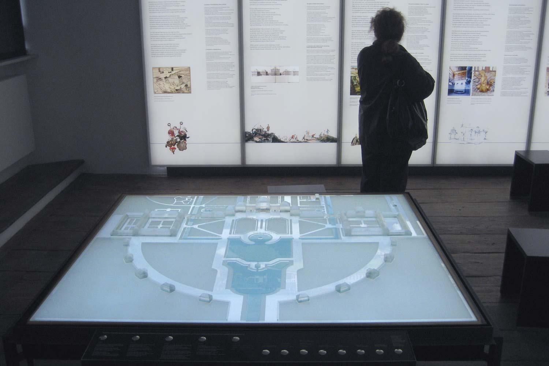 Interaktives Architekturmodell der Schlossanlage Nymphenburg