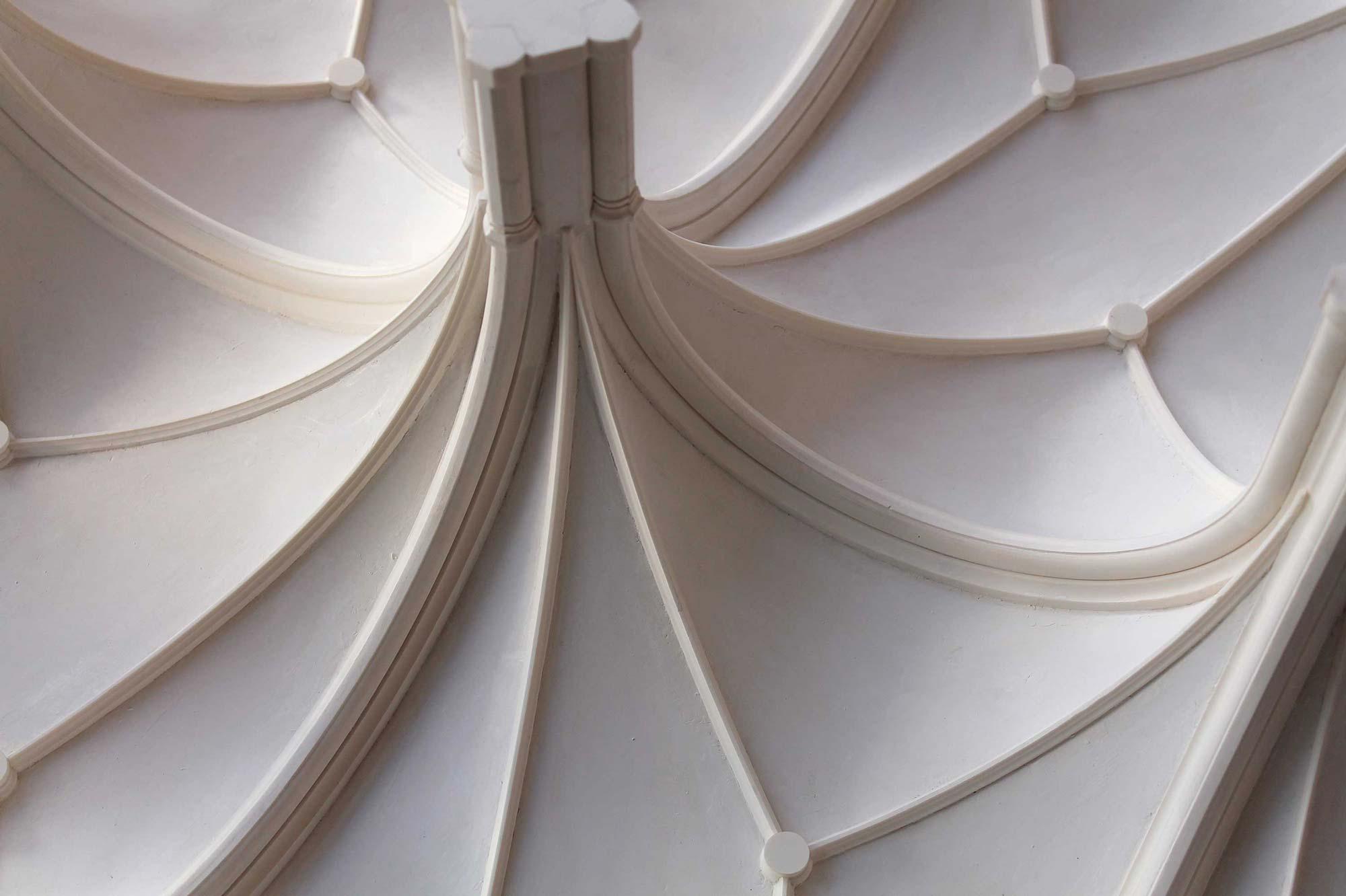 Architekturmodell Rekonstruktion Gewölbe Erkersaal Cadolzburg Detail
