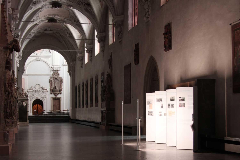 Ausstellungsgestaltung zum Gedenken an Georg Häfner