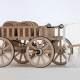 Modellbau Architektur Ausstellungsmodell Römerwagen
