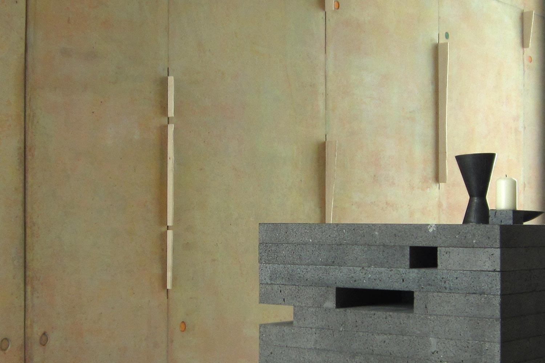 Andachtsraum als Aufgabe von Kunst am Bau