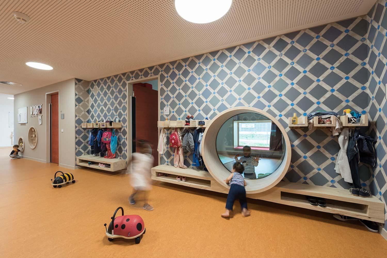 Spielobjekte, Kinderkrippe Hans-Goltz-Weg | Kunst am Bau