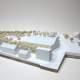 Modellbau Architektur Wettbewerbsmodell