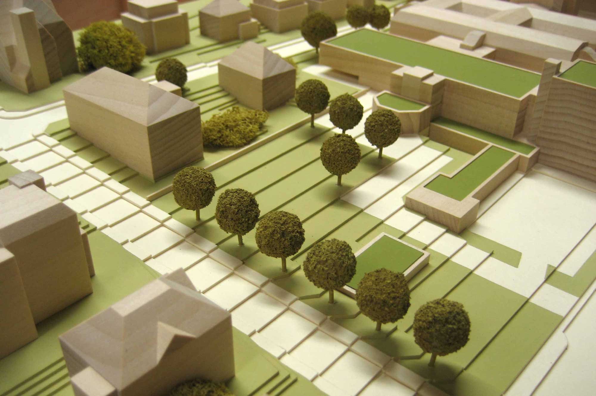 Detail des Gesamtmodells