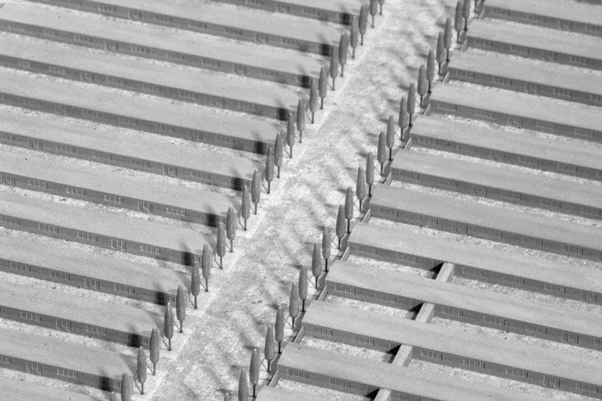 Modell KZ Dachau, Detail