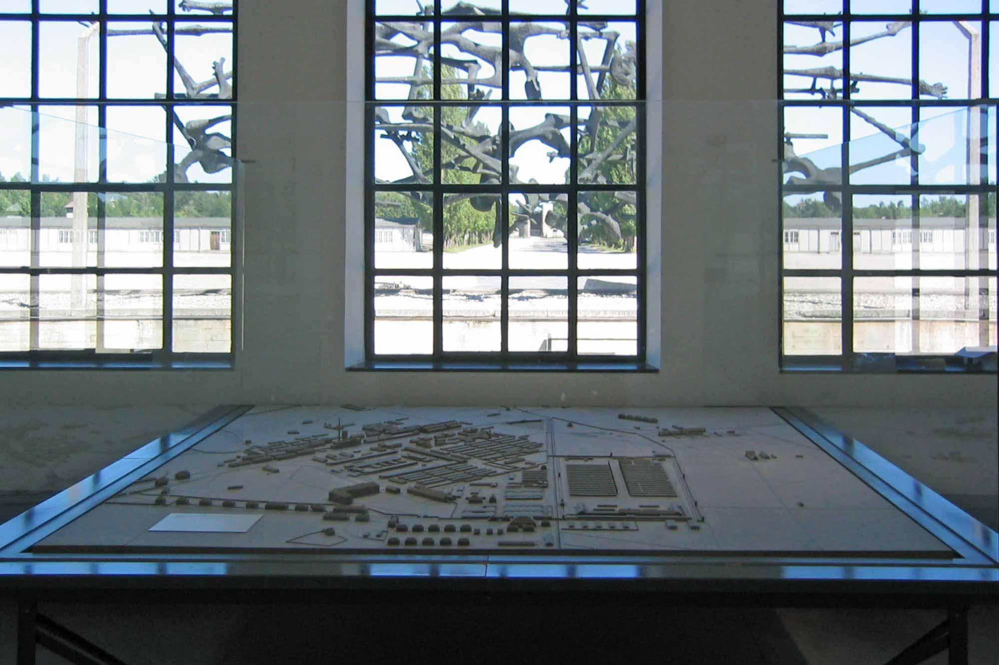 Aufstellungsort Modell KZ Dachau