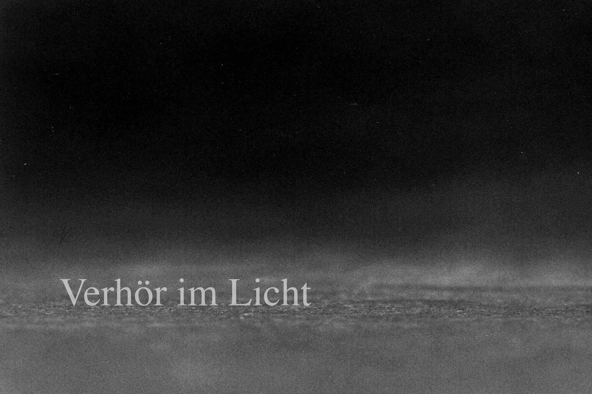 Verhör im Licht, Fotodokumentation