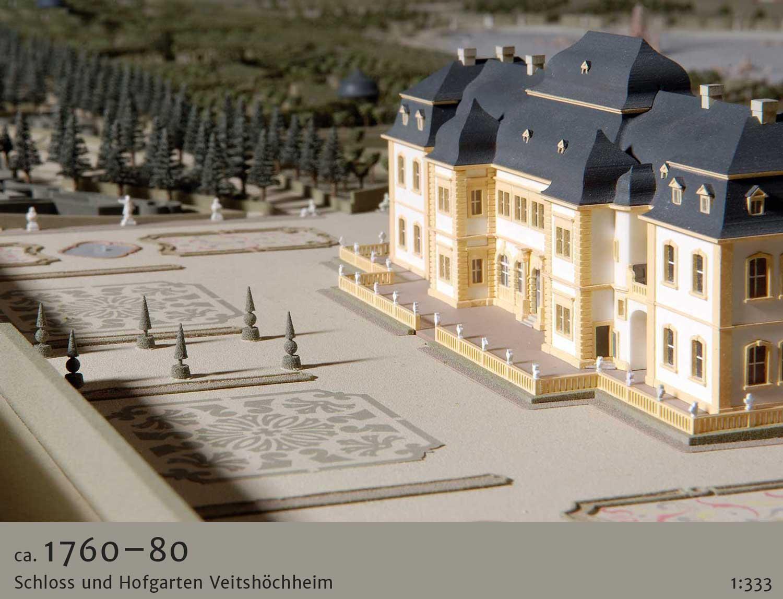 Gartenmodell Veitshöchheim