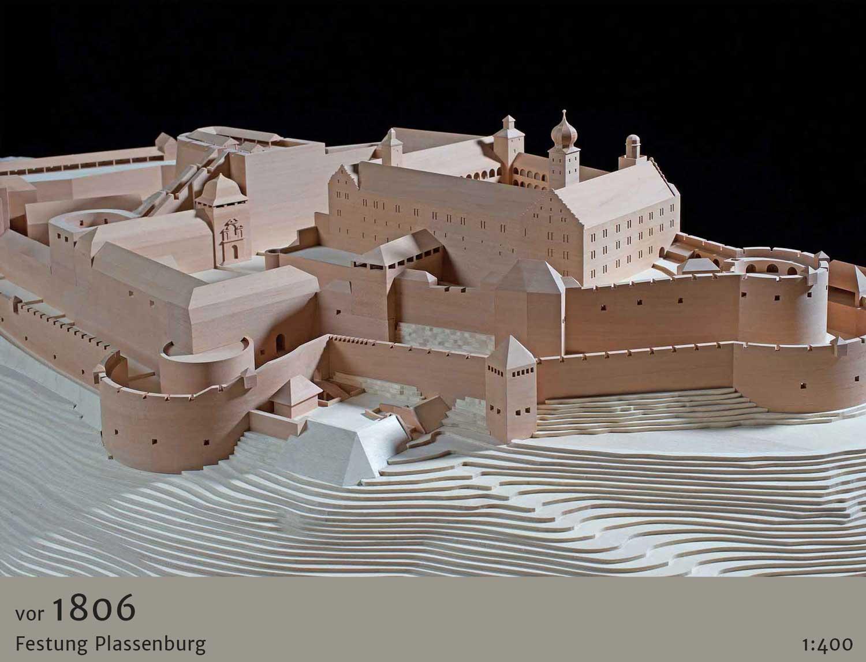 Anschauungsmodell der Plassenburg