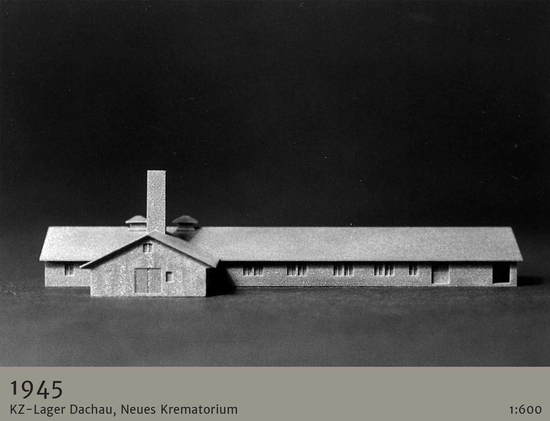 Anschauungsmodell Gesamtanlage KZ-Dachau
