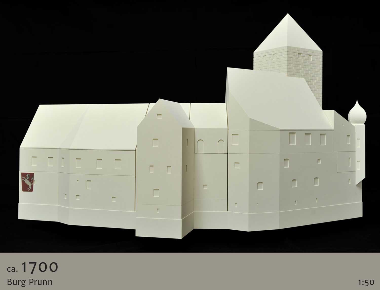 Modulares Anschauungsmodell Burg Prunn