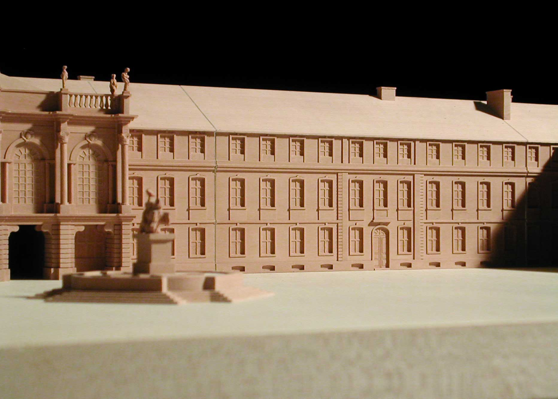 Neues Schloss Bayreuth rechter Flügel