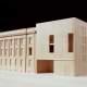 Modell Schweizer Botschaft Berlin nach Umbau von Diener & Diener